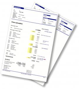 RengøringsSystemets PriskalkulationsModul